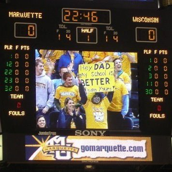 My senior year when MU beat WI 61-58!